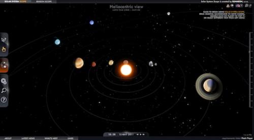 Sistema solare 3d online gratis microblog for Immagini universo gratis
